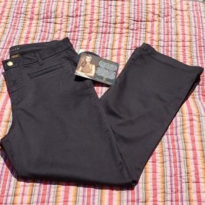 Iman Global Black Jeans 14 Short